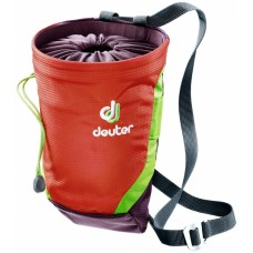 Мешочек для магнезии Deuter Gravity Chalk Bag II L Papaya Aubergine (9511)