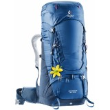 Рюкзак Deuter Aircontact 60 + 10L SL Steel Midnight (3399)