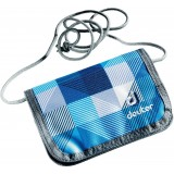 Кошелёк Deuter Chest Wallet Blue Arrowcheck (3016)