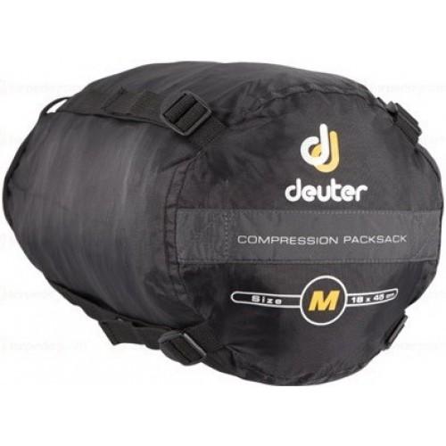 deuter Компрессионный мешок Deuter Compression Packsack 12L Black (7000) M Compression Packsack 12L (39770)
