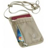 Кошелёк нагрудный Deuter Security Wallet I Sand White (6102)